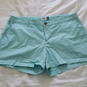Old Navy aqua shorts
